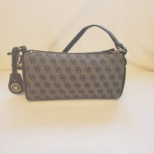 Dooney and Bourke brown monogram handbag